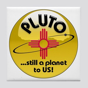 NM loves Pluto Tile Coaster